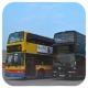 HZ3575 @ E11 , HS7147 @ E22A 由 Kn9050.Km1453=] 於 機場博覽館巴士總站泊位門(博覽館泊位門)拍