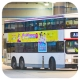 HS1840 @ 46X 由 CTC 於 大圍鐵路站巴士總站面向46S總站梯(46S總站梯)拍攝