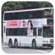 HR1918 @ 86 由 栗田バス 於 牛皮沙街面對小瀝源村垃圾房東行梯(小瀝源村垃圾房梯)拍攝