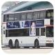 GL3607 @ 251M 由 面子升降機 於 青衣鐵路站巴士總站落客站梯(青機落客站梯)拍攝