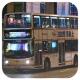 HW3545 @ N796 由 hBx219xFz 於 彌敦道左轉亞皆老街門(旺角匯豐門)拍攝