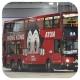 HN9680 @ 286X 由 .HB 1972 於 大圍鐵路站巴士總站面向46S總站梯(46S總站梯)拍攝