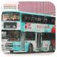 HL1693 @ 219X 由 老闆 於 麗港城巴士總站左轉出茶果嶺道門(出麗港城總站門)拍攝