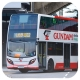 TG2303 @ 802 由 GE5135 於 沙田馬場巴士總站入坑尾門(馬場入坑門)拍攝