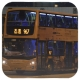 RL6869 @ 967 由 RM2717 於 西區海底隧道收費廣場九龍方向巴士站出站(西隧門)拍攝