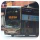 RX1322 @ 284 由 HE423.. 於 沙田市中心巴士總站左轉沙田正街門(新城市廣場出站門)拍攝